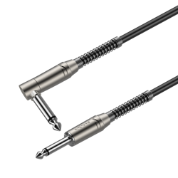 6.3mm mono plug - 6.3mm mono plug right angle Roxtone SAMURAI SGJJ110L3