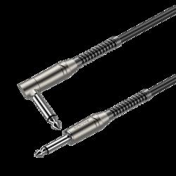 6.3mm mono plug - 6.3mm mono plug right angle Roxtone SAMURAI SGJJ110L5