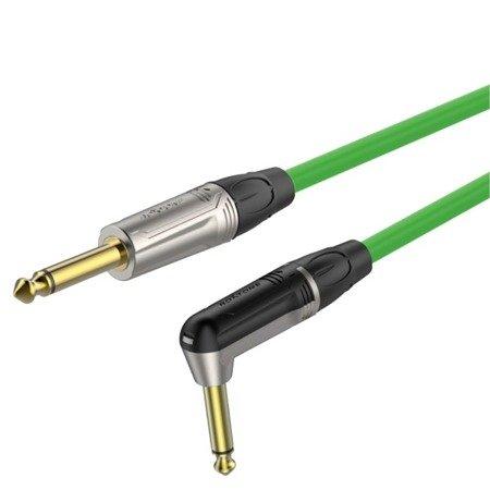6.3mm mono plug - 6.3mm mono plug right angle  Roxtone TGJJ110L5 TGN