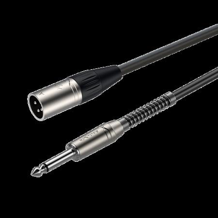 XLR 3-pole male - 6.3mm mono Jack plug SAMURAI SMXJ250L1