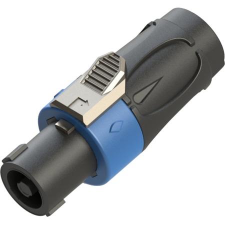 Wtyk głośnikowy RS4F-N niebieski